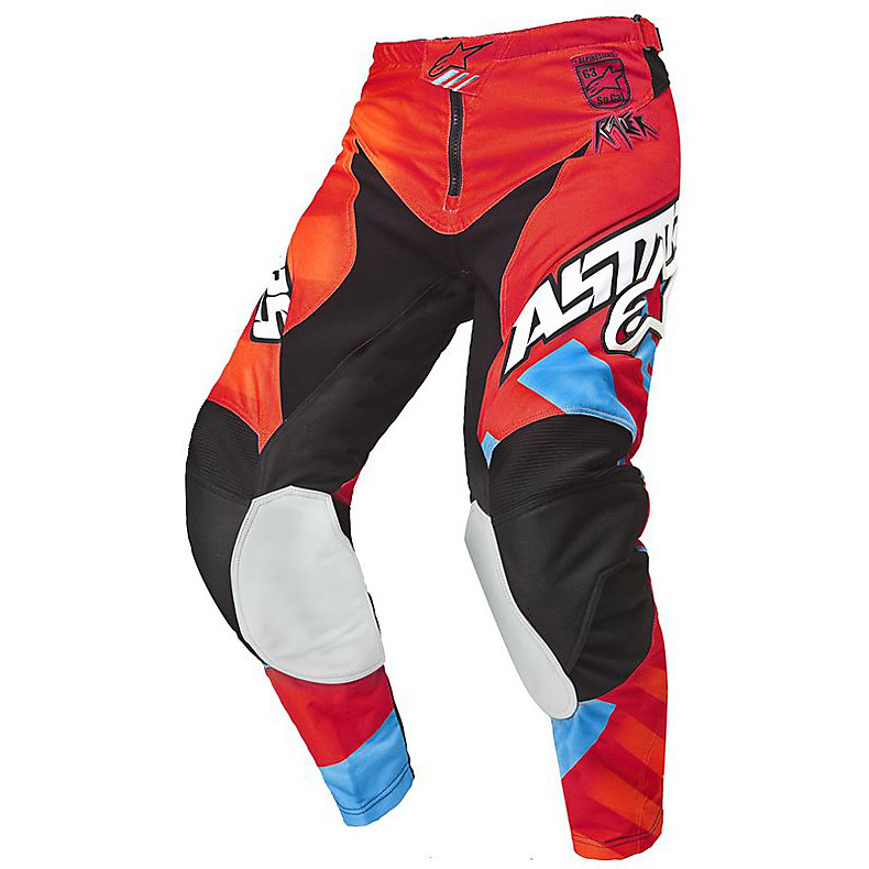 Racer Braap pants 2015 red-orange Alpinestars