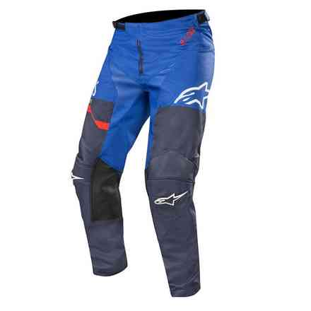 Racer Flagship 2019 pant Dark Navy Blue Red Alpinestars