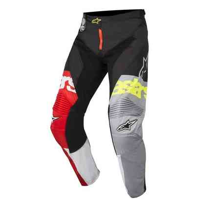 Racer Flagship Pants Red white black Alpinestars