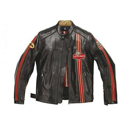 Racer leather Jacket Helstons