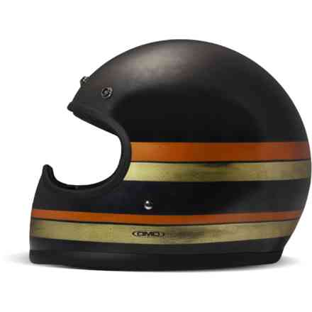 Racer Line Black helmet hand made DMD