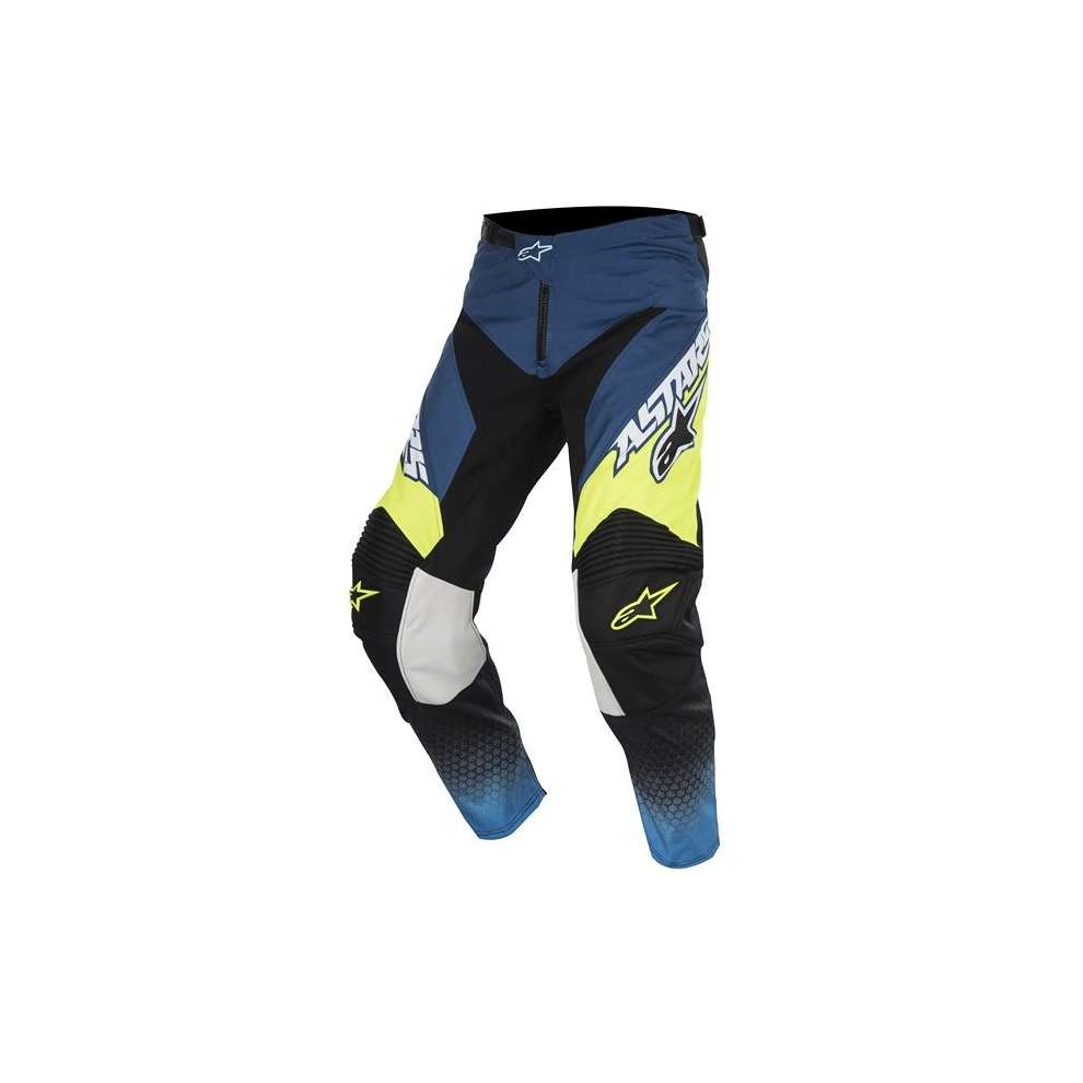 Racer Supermatic blue-yellow Pants  Alpinestars
