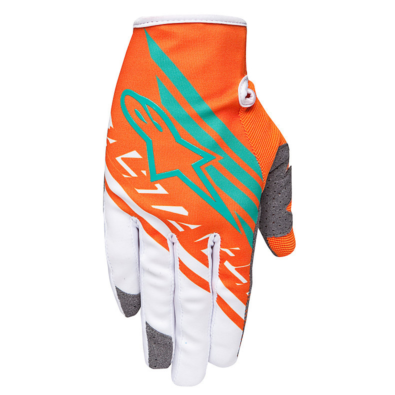 RACER SUPERMATIC GLOVE MOTOCROSS 2015 ORANGE Alpinestars