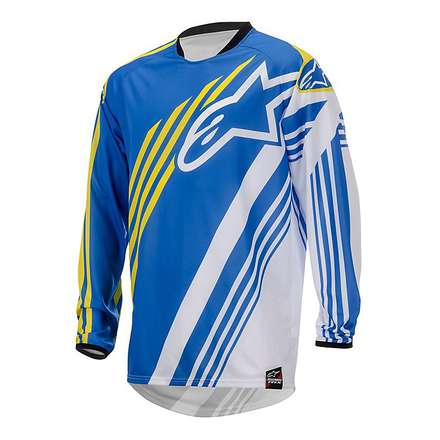 Racer Supermatic Jersey 2015 blue-white Alpinestars