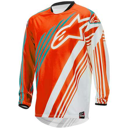 RACER SUPERMATIC JERSEY 2015  orange Alpinestars