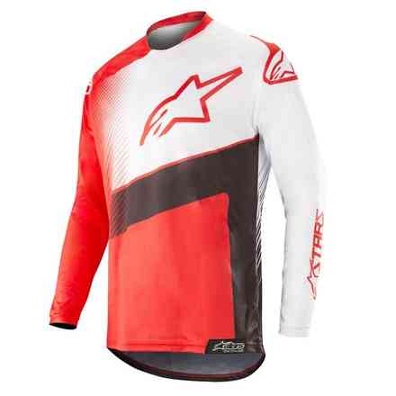 Racer Supermatic Jersey Red Black White Alpinestars