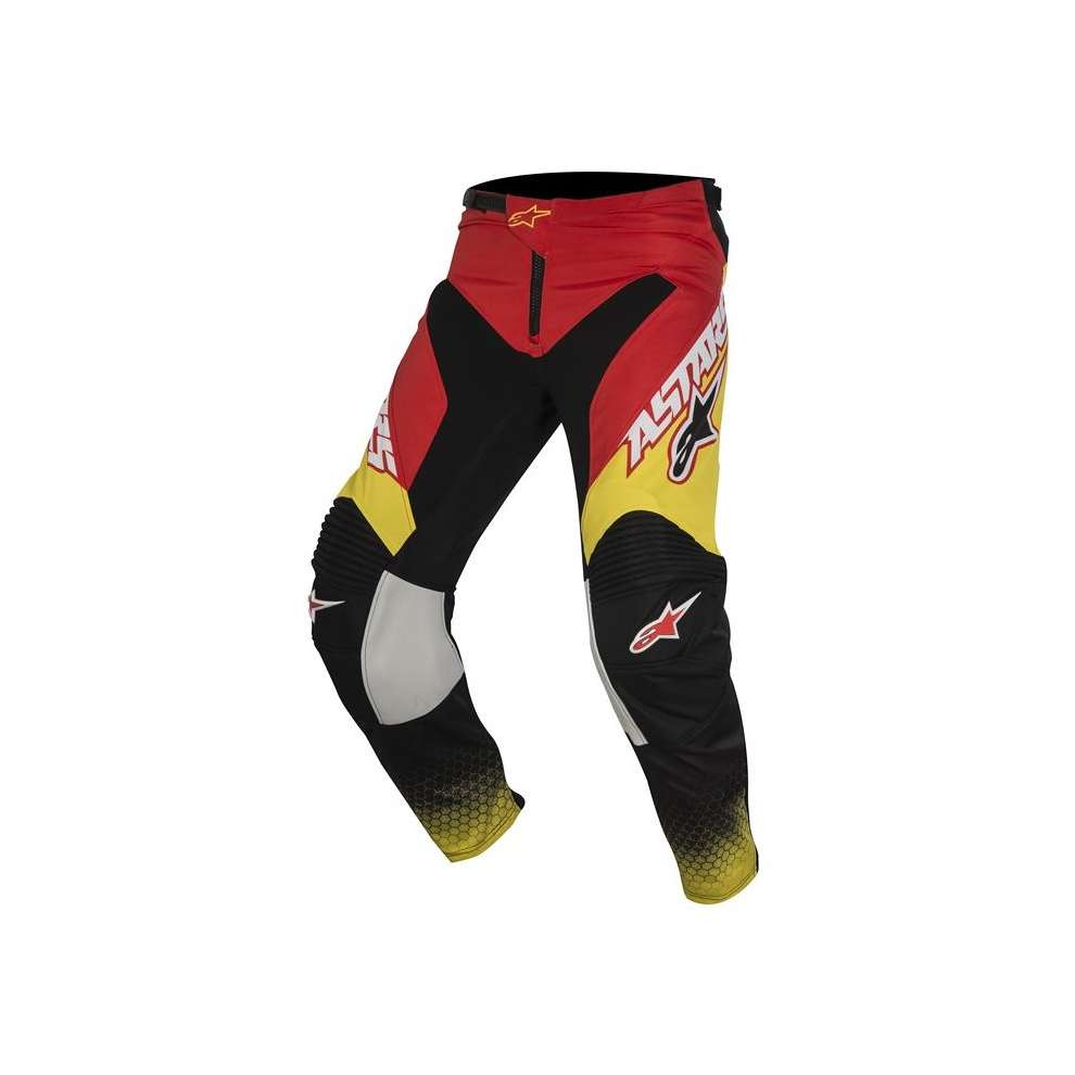 Racer Supermatic red-black-yellow Pants  Alpinestars