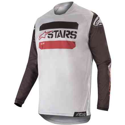 Racer Tactical Jersey Black Gray Burgundy Alpinestars
