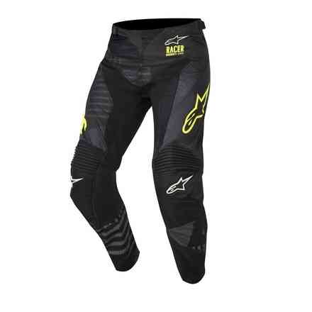 Racer Tactical pants black yellow fluo Alpinestars
