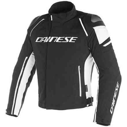 Racing 3 D-Dry jacket black white Dainese