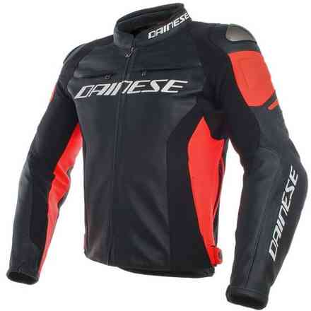 Racing 3 jacket black red fluo Dainese