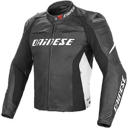 Racing D1 Jacket  black-black- white Dainese
