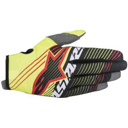 Radar Tracker black yellow fluo Gloves  Alpinestars