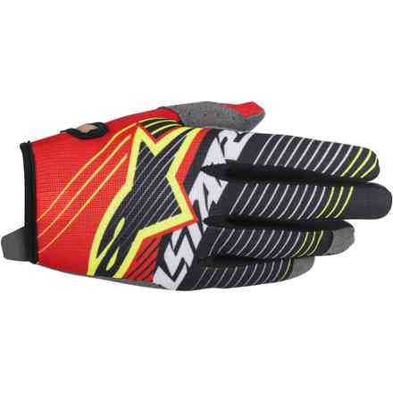 Radar Tracker Gloves  red white black Alpinestars