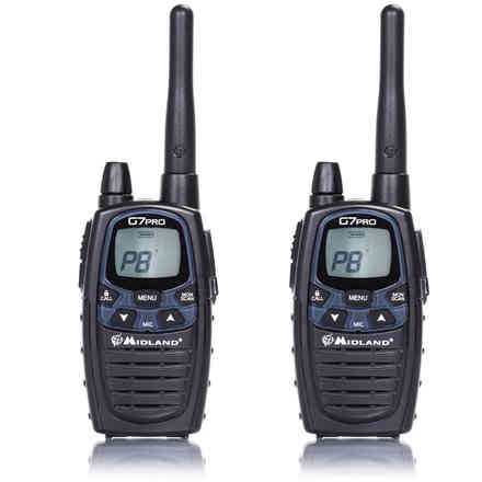 Radio G7 Pro-2 + 2 packs Batteries Midland