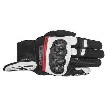 Rage Drystar black white red Gloves  Alpinestars