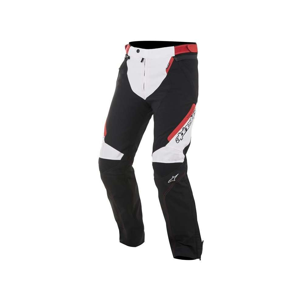 Raider  Drystar Pants black white red Alpinestars