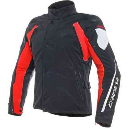 Rain Master D-Dry jacket black grey red Dainese