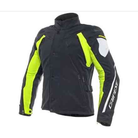 Rain Master D-Dry jacket black grey yellow Dainese