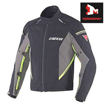 Rainsun fluorescent yellow jacket Dainese
