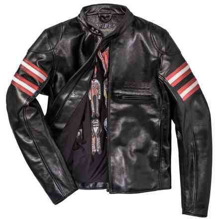 Rapida72 Perforated Leather Jacket  Dainese