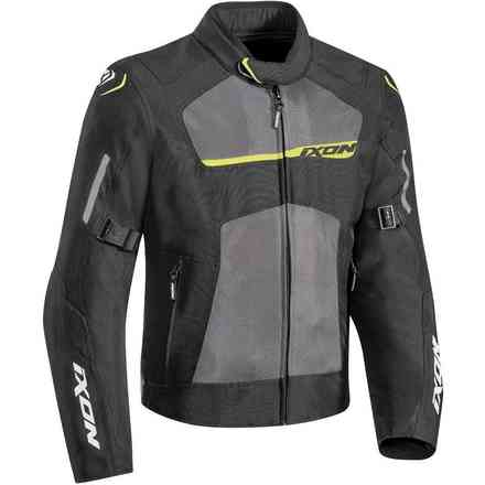 Raptor jacket black grey yellow Ixon