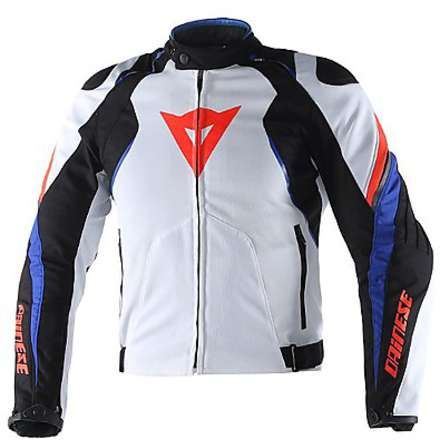 Raptor Tex Jacket white-black-blue Dainese