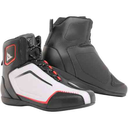 Raptors Air shoes black white red Dainese