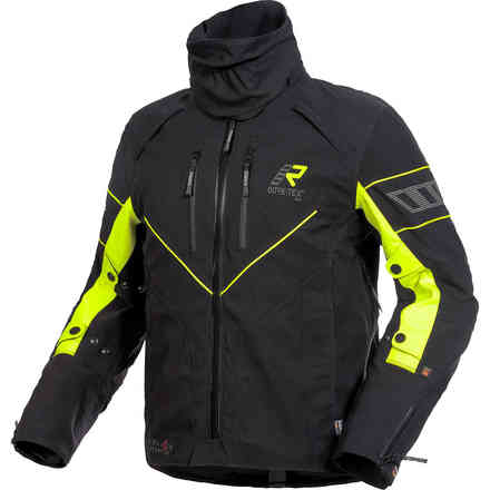 Realer Gore-Tex black yellow Jacket RUKKA