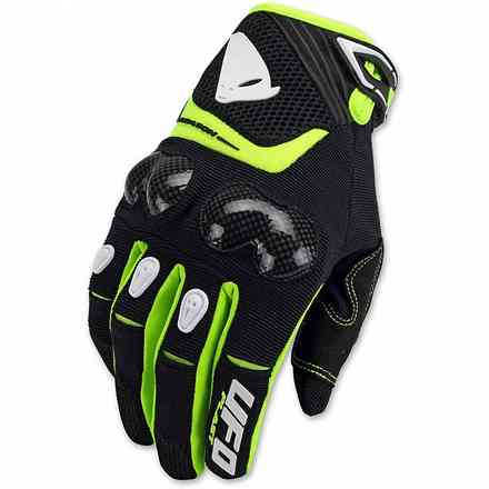 """Reason """"Carbon"""" Glove With Black Protections Ufo"""