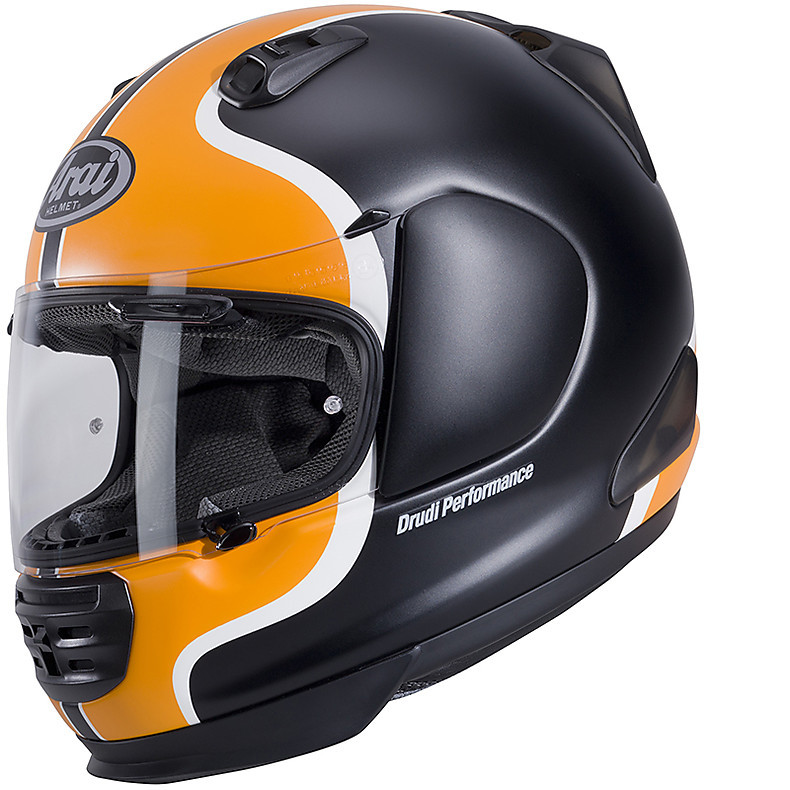 Rebel Heritage Orange Helmet Arai