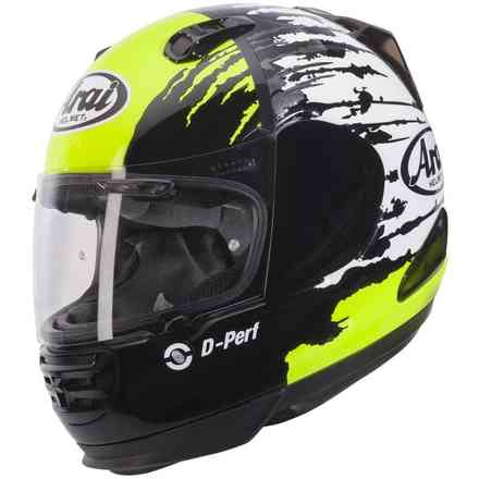 Rebel Splash green Helmet Arai