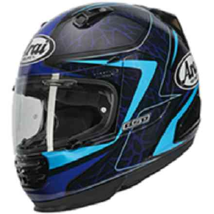 Rebel Sting Blue Helmet Arai