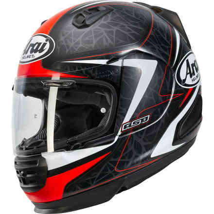 Rebel Sting Red Helmet Arai
