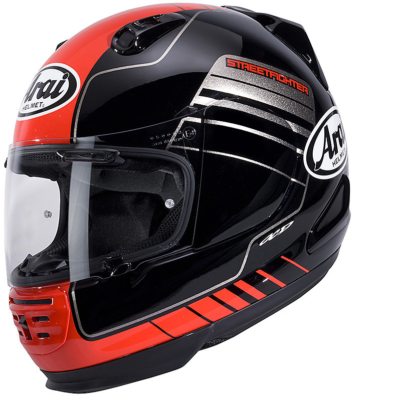 Rebel Street Red Helmet Arai