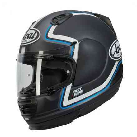 Rebel Trophy Blue Helmet Arai