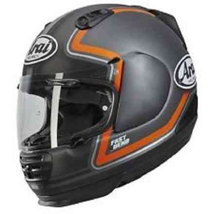 Rebel Trophy Orange Helmet Arai