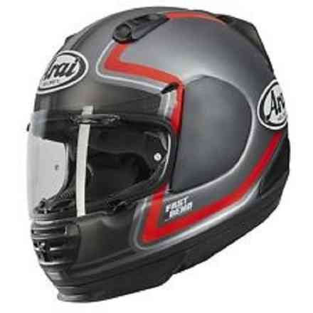 Rebel Trophy Red Helmet Arai