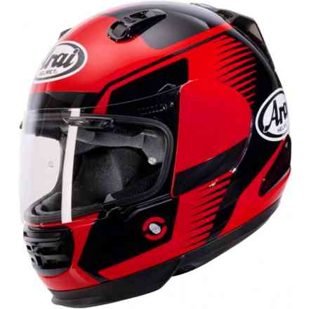Rebel Venturi Red Helmet Arai