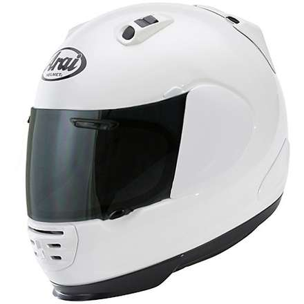 Rebel white Helmet Arai