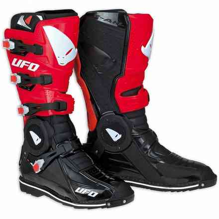 Recon black red Boots Ufo