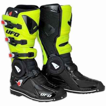 Recon black yellow fluo Boots Ufo