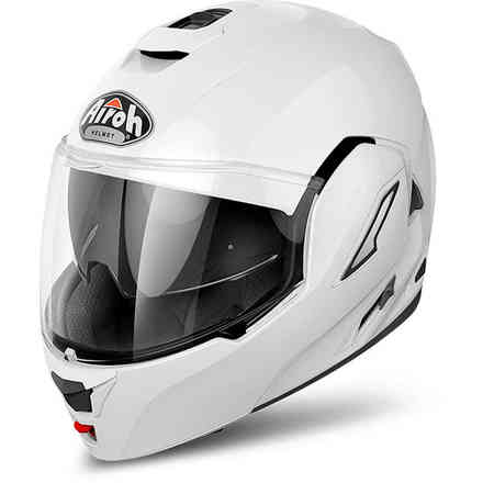 Rev Color white Helmet Airoh
