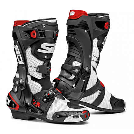 Rex Air Boots White Black Sidi