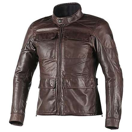 Richard  leather Jacket Brown Dainese