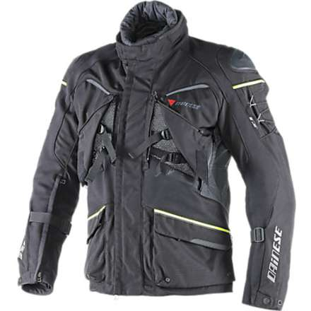 Ridder D1 Gore-tex Jacket Black-Yellow Fluo Dainese