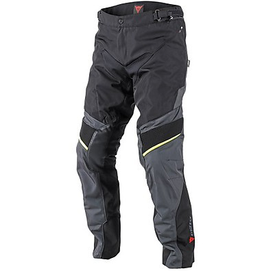 Ridder D1 Gore-tex Pants Black-Yellow Fluo Dainese