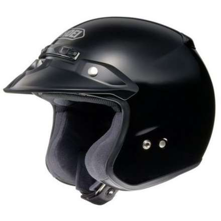 Rj Platinum-r Black Helmet Shoei