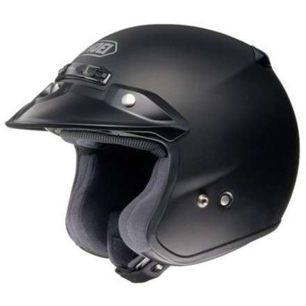 Rj Platinum-r Matt Black Helmet Shoei