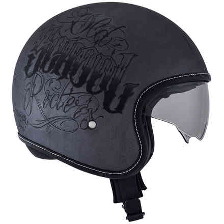 Rokk Old School Rider Scratch Helmet Suomy